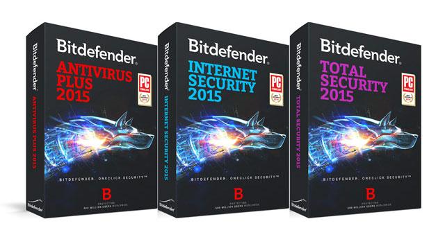 bitdefender: antivirus, internet security en total security